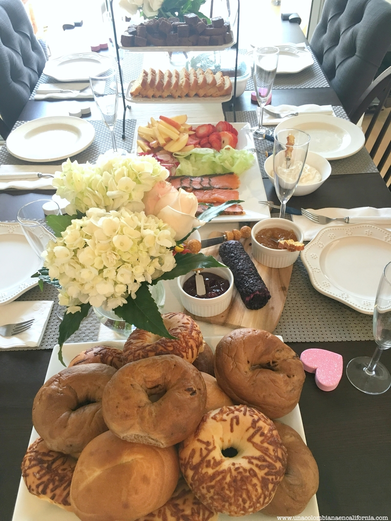 brunch de bagels