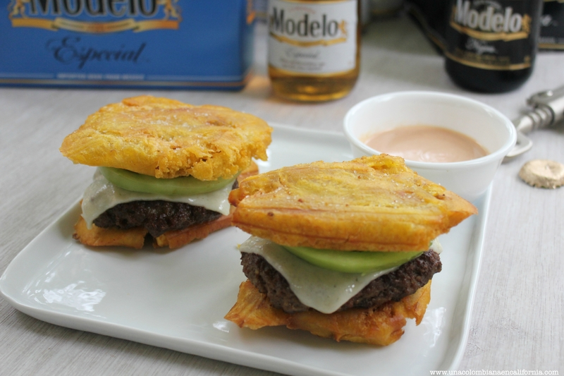 hamburguesa de patacon