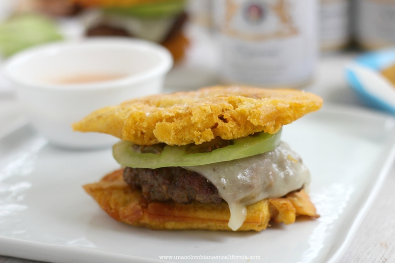 green plantain burger