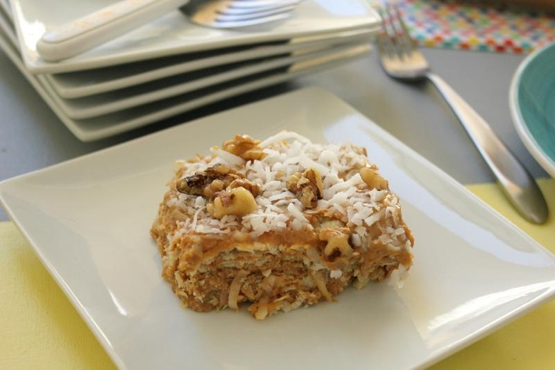 torta fria de galletas y arequipe