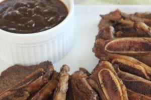 Costillas en salsa BBQ de chipotle y tamarindo
