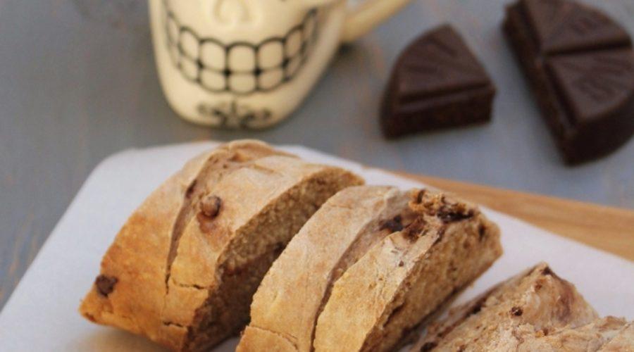 Pan francés de chocolate