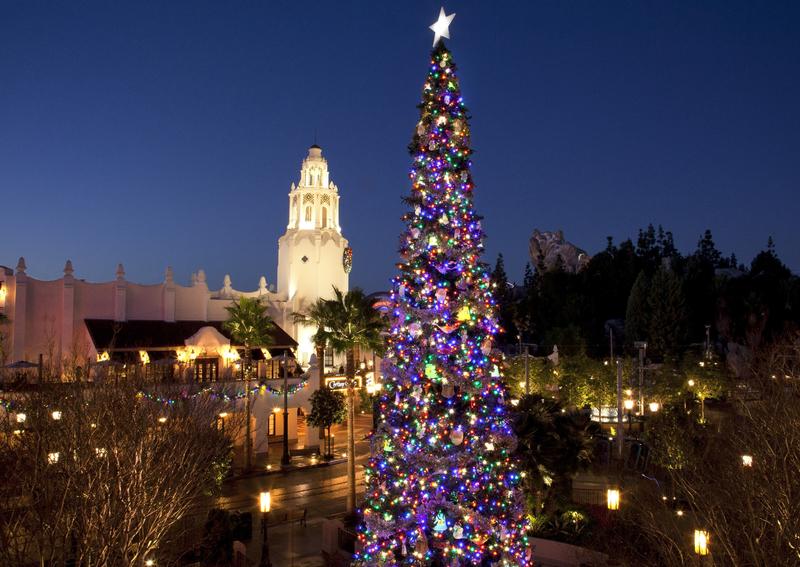 arbol de navidad Disneyland