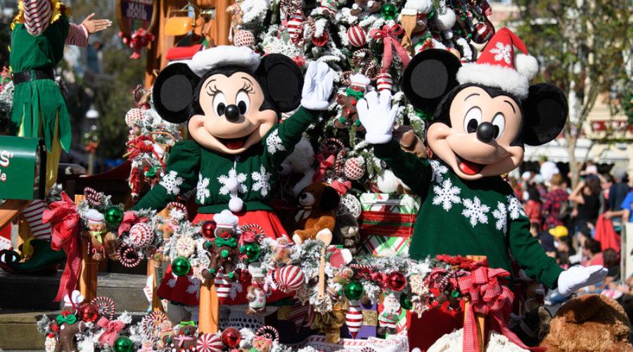 La Navidad ha llegado a Disneyland