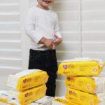 Pañitos para bebé, una historia de la vida real