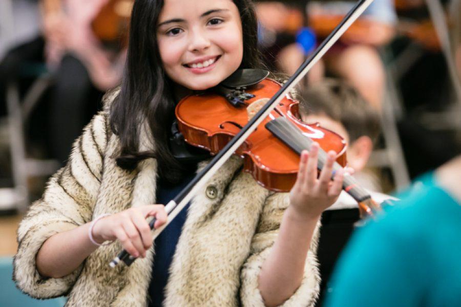 Emily y sus lecciones de violín