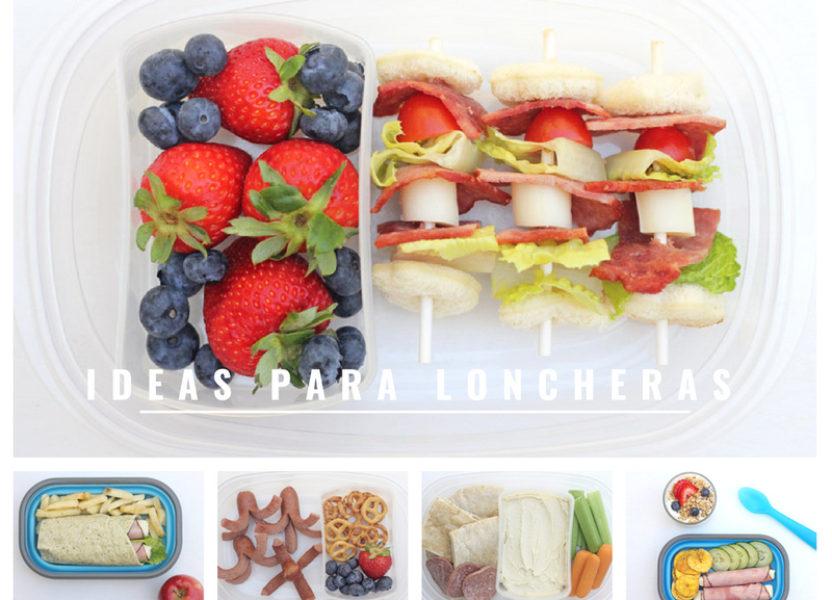 Ideas para loncheras infantiles deliciosas