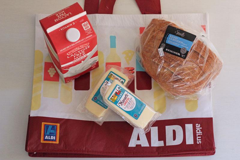 desayuno colombiano chocolate con queso ALDI