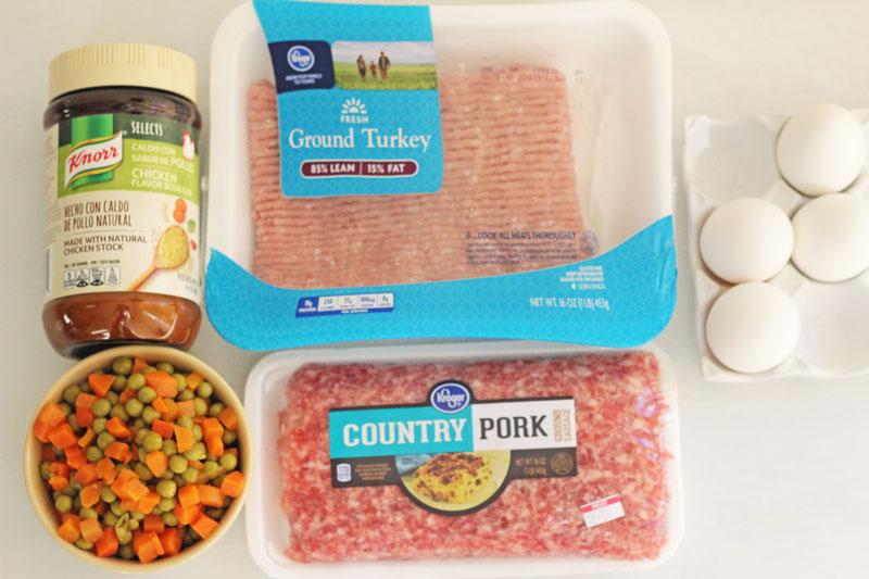 galantina de carnes ingredientes