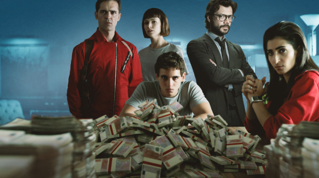 La casa de papel series Netflix