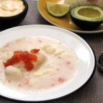 Mote de queso: sopa colombiana