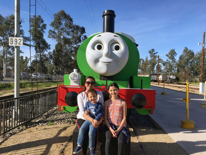 Thomas y sus amigos Percy Day out with Thomas