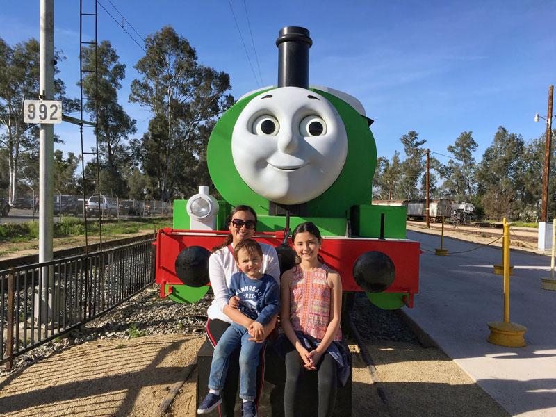 Thomas y sus amigos Percy Day out with Thomas