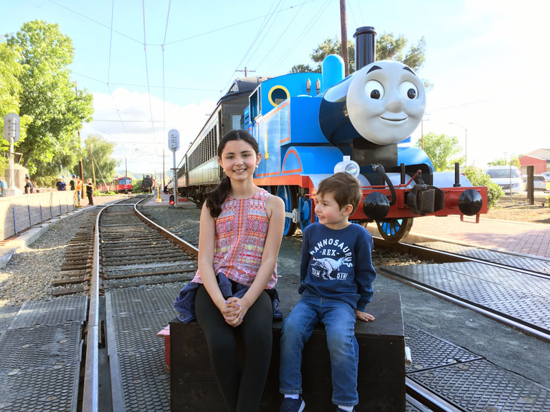 Thomas y sus amigos Day out with Thomas