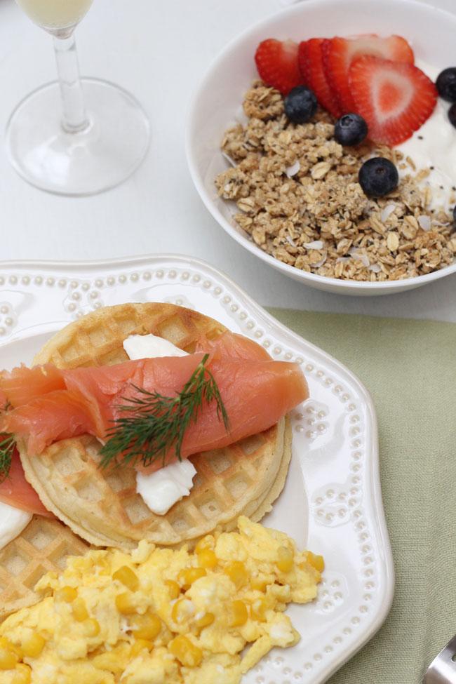 brunch para mama desayuno dia de la madre