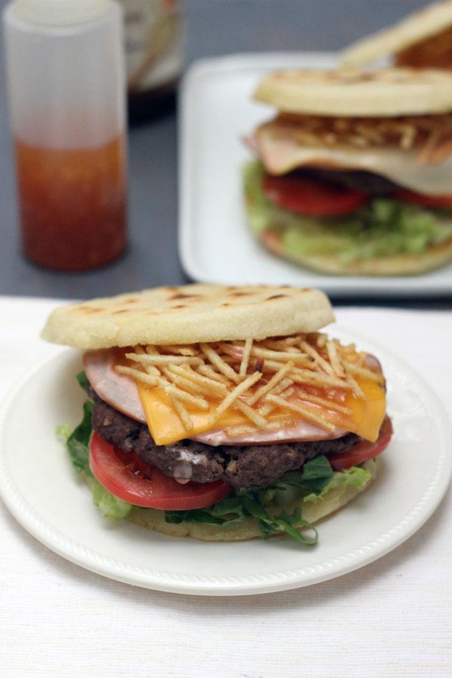 arepa burger hamburguesa de arepa Knorr Selects
