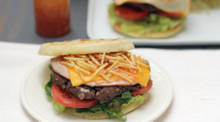 Arepa Burger (hamburguesas de arepa)