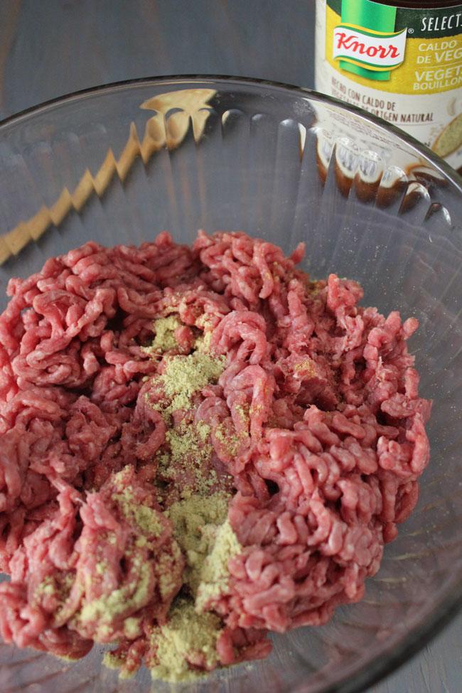 arepa burger Knorr Selects hamburguesa de arepa
