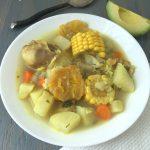 Fried Green Plantain Soup (Patacón Soup)