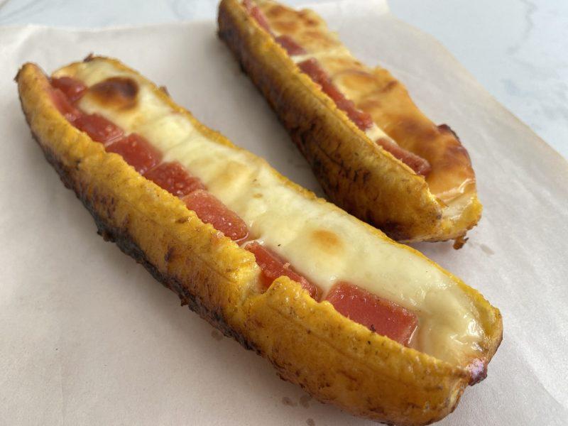 platano maduro con queso